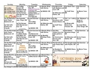 Longwood Plantation - October 2018