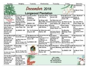 Longwood Plantation - December 2018