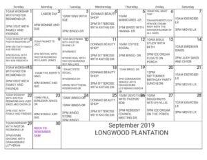 Longwood Plantation - September 2019
